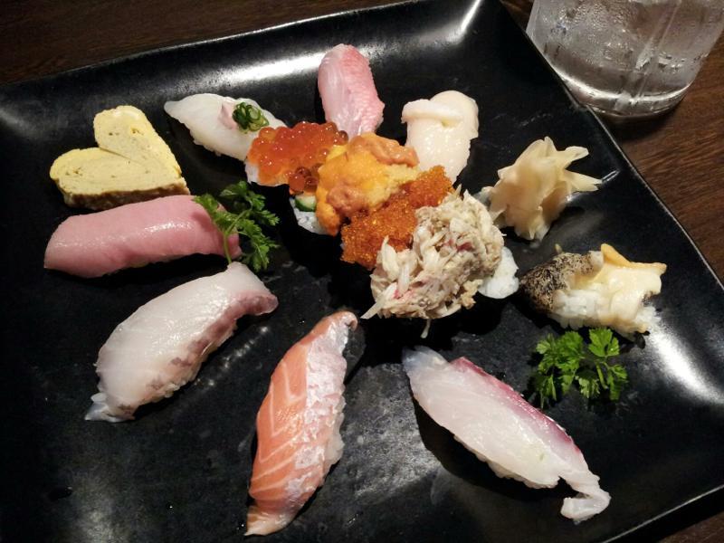 特上にぎり寿司